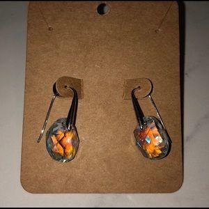 Swarovski Hanging Crystal Earrings